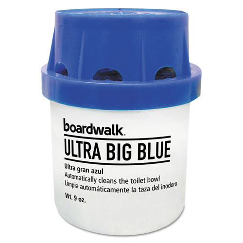Boardwalk BWKABCBX Big Blue toilet bowl cleaner deodorizer in tank style case of 12 replaces BWKABCCT