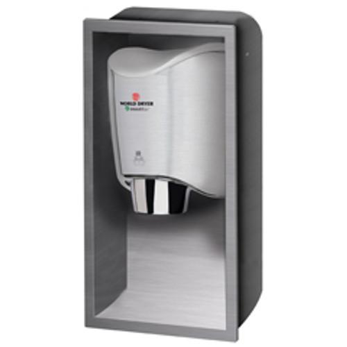 World Dryer KKR973 Smartdri recess kit hand dryers sold separately