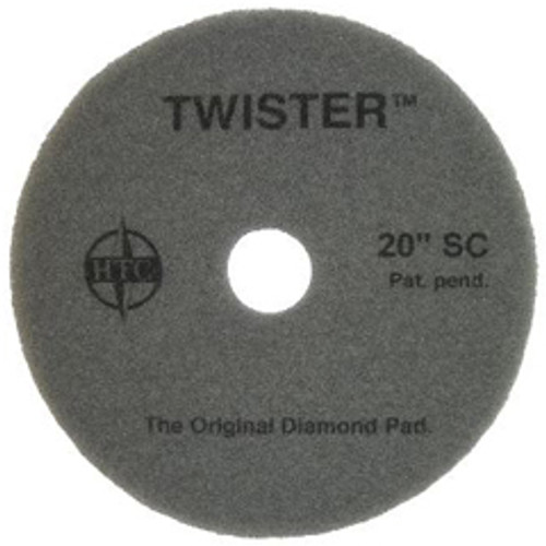 Twister Superclean Floor Pads 20 inch for daily cleaning on all coated floors removes dirt from coated floors with just water case of 2 pads 434820