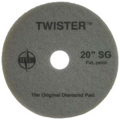 Twister Supergloss Floor Pads 17 inch ultra high speed floor buffer polishing pads 1000 to 3000 rpm for polishing to a super high gloss on all coated floors case of 2 pads 434917