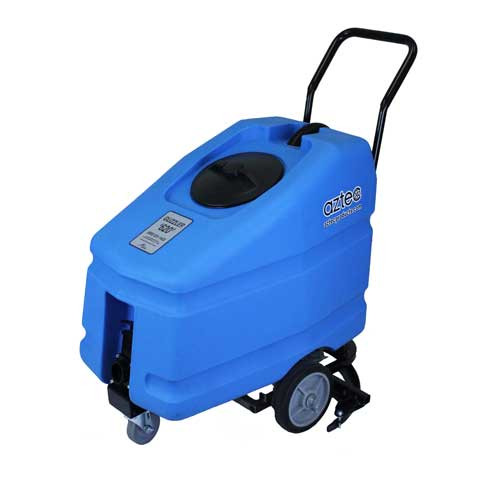 Aztec Guzzler 620 Floor Stripper vacuum mechanical push powered 30 inch rear mount squeegee 36 gallon A01562