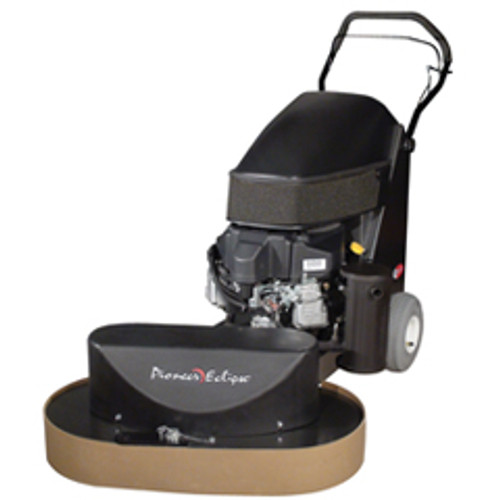 Pioneer Eclipse Propane Strip Buffer 440 Series Stripper 38 inch twin head with strip brushes 18hp Kawasaki 325 rpm 12 volt battery starter with emissions shutdown 440st38z