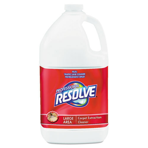 Resolve professional carpet cleaner carpet shampoo concentrate for extraction pretreatment or spot cleaning one gallon bottles case of 4 replaces rec97161 rac97161ct