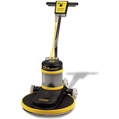 Koblenz B1500C floor buffer burnisher machine 20 inch with pad holder 1500 rpm ac motor with dust control system 1.5 hp fixed curved handle K0044297