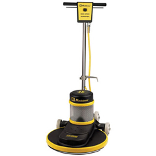Koblenz B1500FC floor buffer burnisher machine 20 inch with pad holder 1500 rpm ac motor with dust control system 1.5 hp flexible straight handle K0044354