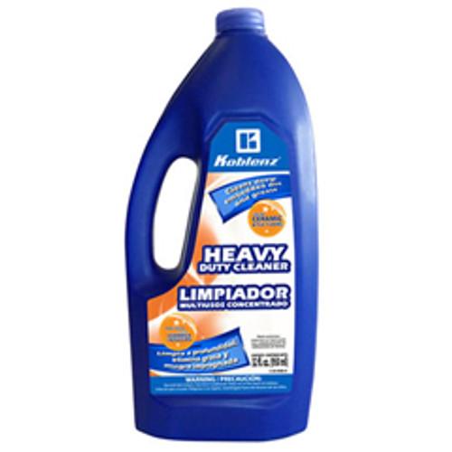 Koblenz 2005866 heavy duty cleaner for Koblenz shampoo polisher floor scrubber machines 1 quart bottle