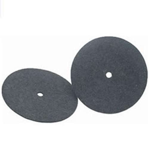 Koblenz 4501037 6 inch felt buffing pads for Koblenz shampoo polisher floor scrubber machines set of 2 pads