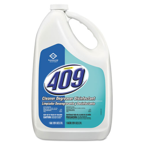 Formula409 all purpose cleaner degreaser disinfectant one gallon bottles case of 4 formula409 clo35300ct