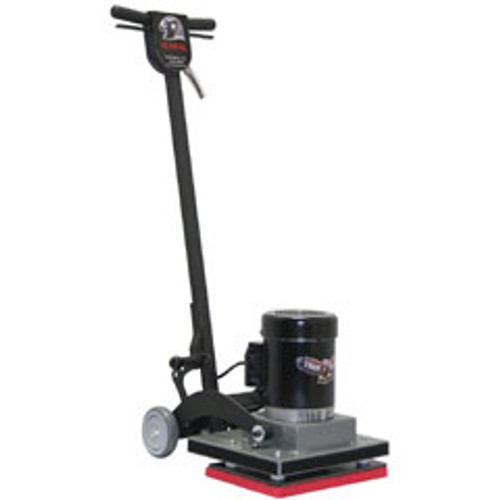 TigerHawk1410 Square Strip Scrub Floor Machine for chemical free floor finish stripping 14x10 0.5hp 1725 rpm FTIGER1410