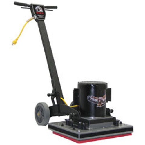 TigerHawk2014 Square Strip Scrub Floor Machine for chemical free floor finish stripping 20x14 1.5hp 1740rpm by Hawk FTIGER2014