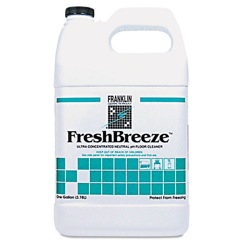 Franklin fklf378822 fresh breeze neutral floor cleaner one gallon size case of 4 bottles replaces frkf378822