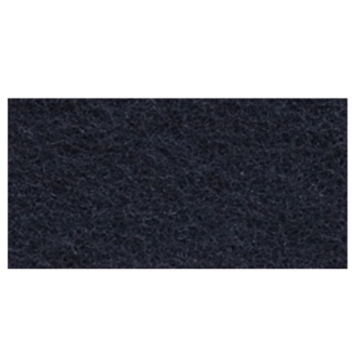 Black Strip Floor Pads 12x18 inch rectangle standard speed up to 350 rpm case of 5 pads by Cleaning Stuff 1218BLACK GW
