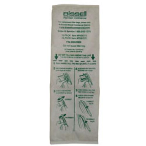 10 Bissell PKBG10 vacuum bags for BGU5500 pack of 10 bags