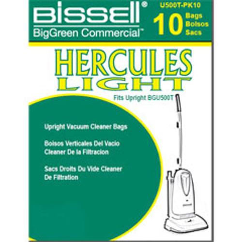 10 Bissell U500TPK10 vacuum bags for BGU500T pack of 10 bags