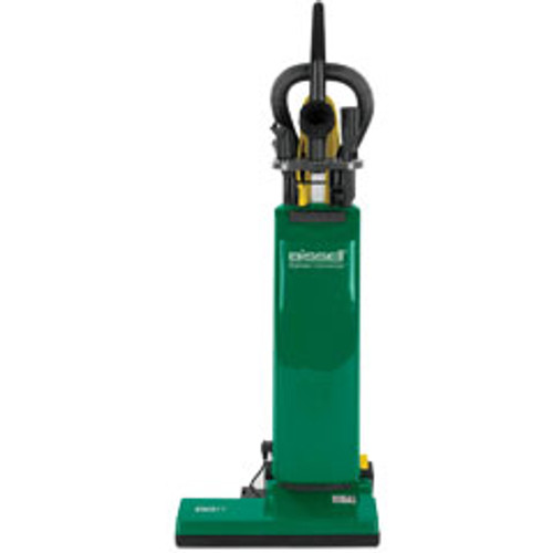 Bissell vacuum BGUPRO18T 18 inch commercial upright dual motor with on board tools uses disposable bags
