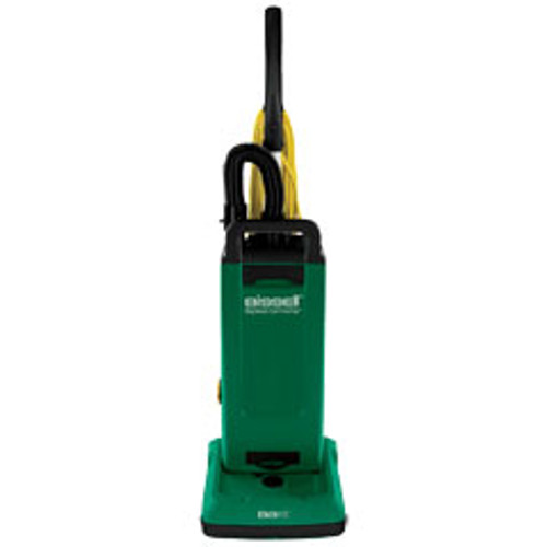 Bissell vacuum BGUPRO12T 12 inch commercial upright single motor with on board tools uses disposable bags