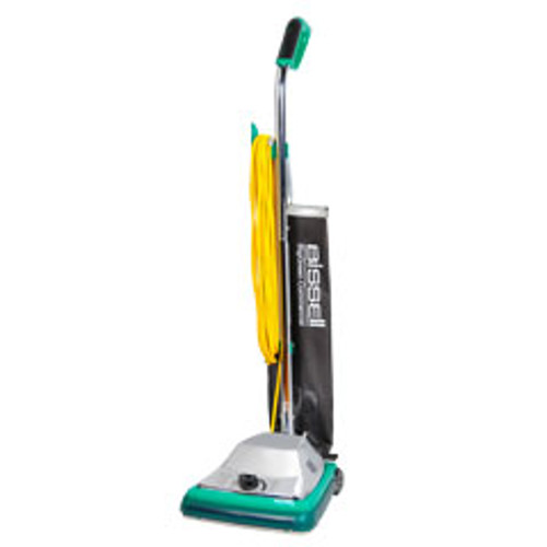 Bissell ProShake vacuum BG101 12 inch commercial upright with shake out bag