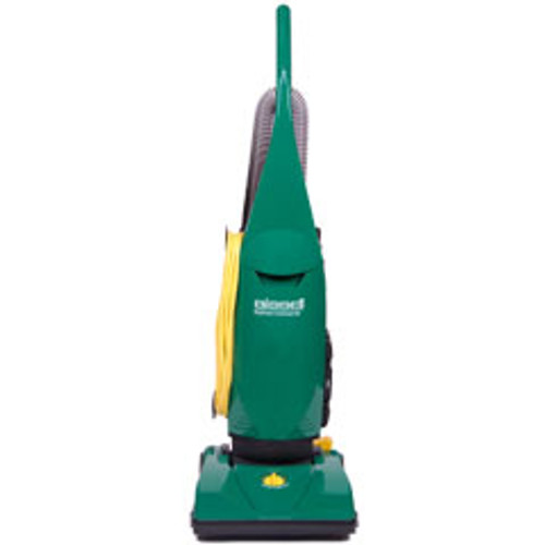 Bissell PowerForce vacuum BGU1451T 13 inch commercial upright with on board tools uses disposable bags