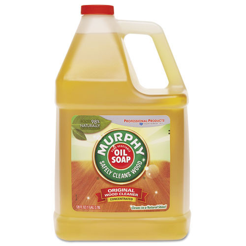 Murphys Oil soap wood cleaner gallon bottle case of 4 gallons replaces mur01103 cpc01103ct
