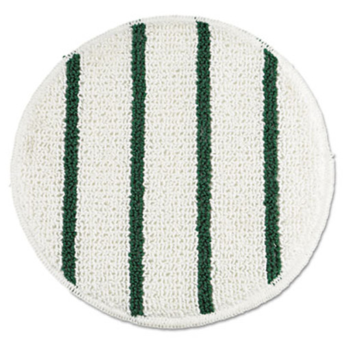Rubbermaid p269 carpet bonnet for 18 or 19 inch floor buffer low profile with green stripes spin klean replaces rcpp269 rcpp269ea