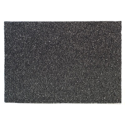 3M 7300 High Productivity Black Strip rectangle floor pads 1