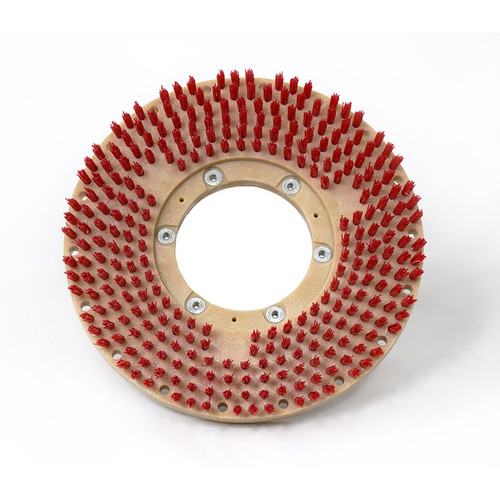 Floor scrubber pad holder PadLok half inch trim782712G400s with G400s clutch plate 12 inch block fits Tennant models 465 1465 528 530 261 540026d by Malish