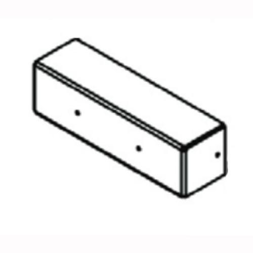 Sandia 100921 aluminum box for dual heater for carpet extractors 6 and 12 gallon Sniper