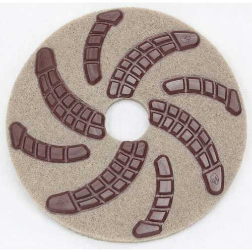 Cheetah Pads 17 inch Step 1 diamond resin bonded equivalent to 50 grit stone concrete polishing one pad sold by each CP17S1EA GW