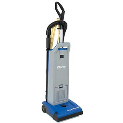 Clarke CarpetMaster 112 vacuum 107407690 12 inch single motor upright HEPA with onboard tools