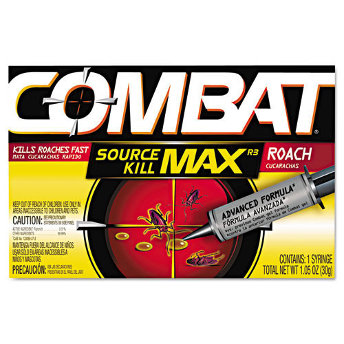 Combat Roach Gel Insecticide one 30 gram applicator per pack case of 12 packs DIA05452 replaces DIA51963