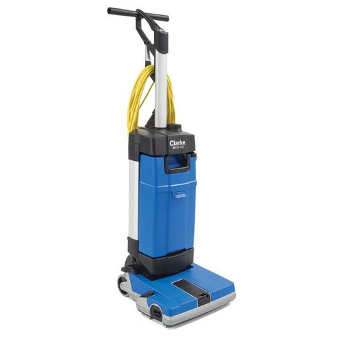 Clarke MA1012E Floor Scrubber 107408160 12 Inch With Cylindrical Brush 33  Foot Electric Cord 0.8 Gallon