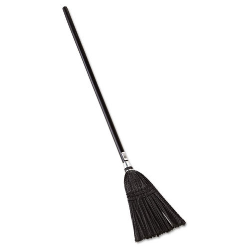 Rubbermaid rcp2536 lobby pro synthetic fill broom, 37 .5 inch height, black