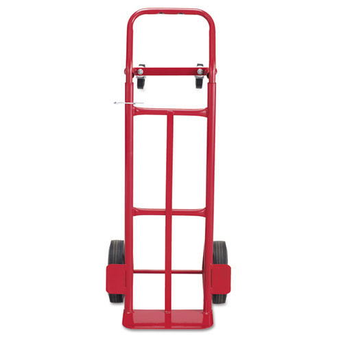 Saf4086r two way convertible hand truck, 500 600lb capacity, 18w x 51h, red