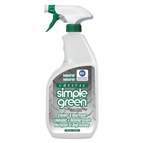Simple Green smp19024 crystal industrial cleaner degreaser, 24oz bottle, case of 12