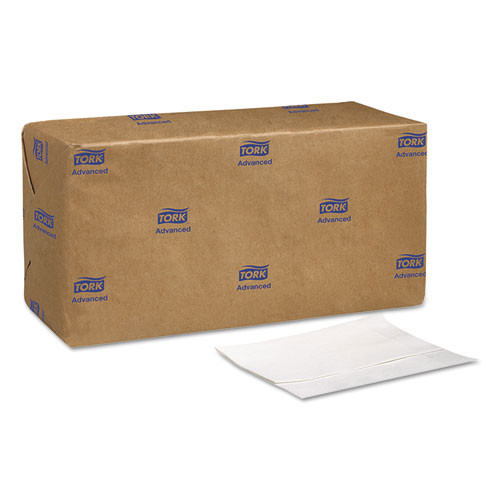 Scad802a advanced soft masterfold dispenser napkins, 1 ply,12x17,bag pack, white, 6000 ct