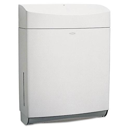 Bobrick Matrix BOB5262 paper hand towel dispenser cfold multifold gray plastic