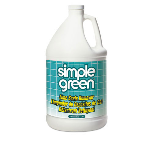 Simple Green smp50128 lime scale remover, wintergreen, 1 gal, bottle, case of 6