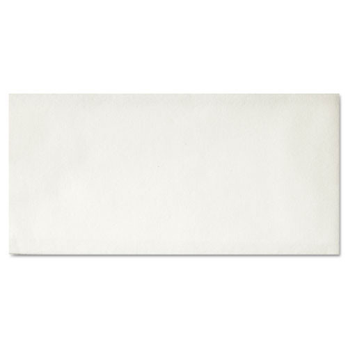 Hfm856499 linen like guest towels, 12 x 17, white, 125 towels pack, 4 packs carton