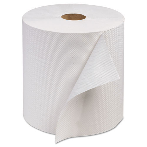 Scarb800 advanced hand roll towel, one ply, white, 7 9 10 x 800'