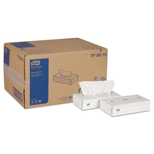 Scatf6810 advanced extra soft, 2 ply facial tissue, white, 100 box, 30 boxes carton