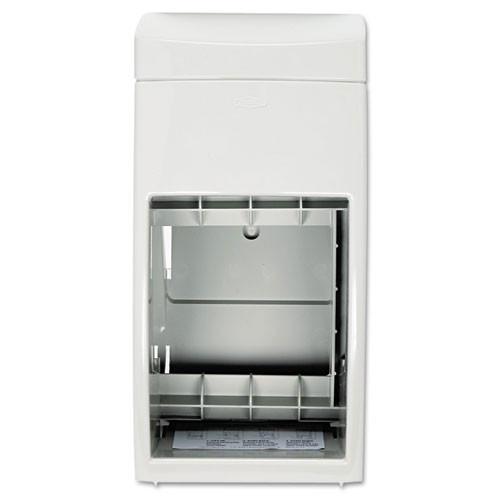 Bobrick BOB5288 Matrix standard roll bathroom tissue dispenser gray plastic holds two rolls
