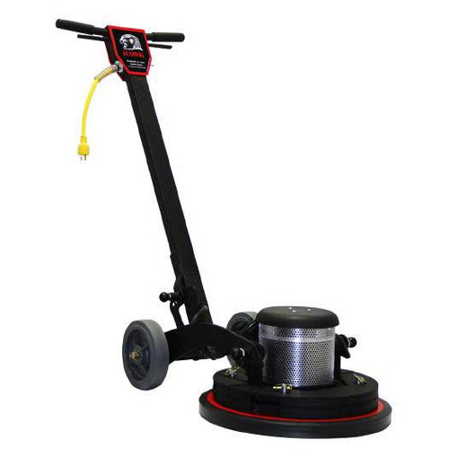 Dual Speed Hawk Merlin Floor Buffer Scrubber Machine with pad holder 17 inch HP15172SMERLIN 1.5 Hp 165 or 300 rpm F0040171.52S