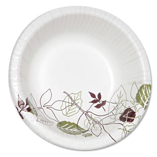 Paper bowls dinnerware heavyweight 20 oz bowl multilayer soak proof shield 500 per case Dixie pathways dxesx20path