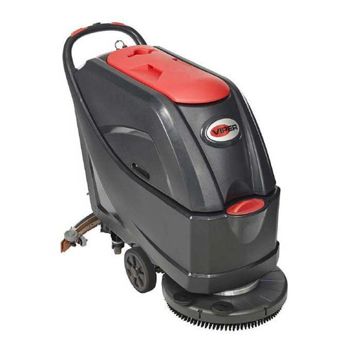 Viper floor scrubber AS5160 56384811 20 inch 16 gallon with pad holder 130 ah wet batteries