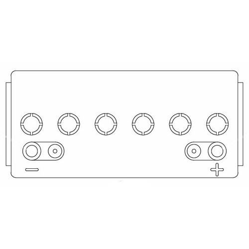 Pioneer Eclipse MP413600 battery 12v sealed 230ah