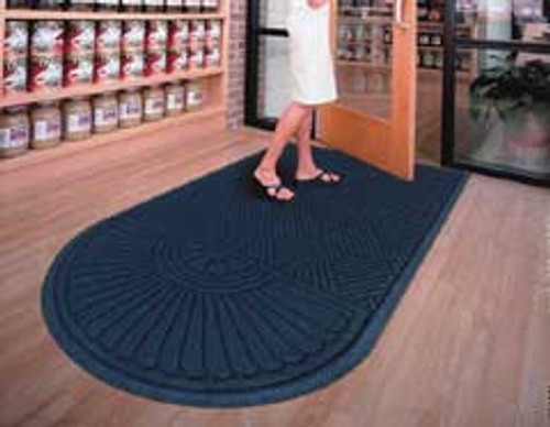 Door Mat Andersen Waterhog Grand Classic one end round size 4x22 foot product number 273 4x22
