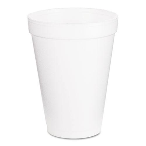 Dart hot or cold foam cups 12oz 25 cups per bags case of 40 bags case of 1000 cups Dart Dcc12j16