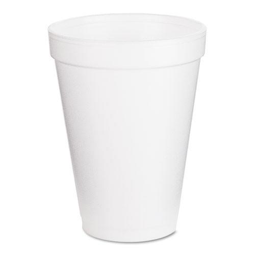 Dart hot or cold foam cups 12oz 25 cups per bags case of 40 bags case of 1000 cups Dart Dcc12j12