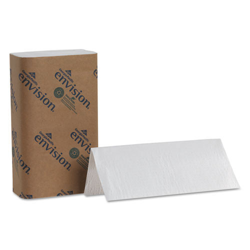 Georgia Pacific GPC20904 paper hand towels singlefold 1 ply Georgia Pacific white case of 4000 towels