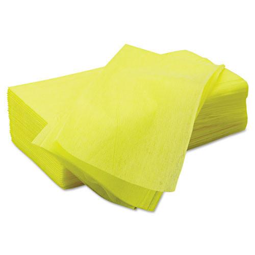 Masslinn dust cloths Chicopee yellow 22x24 30 per bag 5 bags per case chi 8673